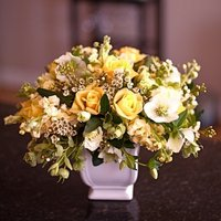 DIY: Sunny Yellow Centerpiece