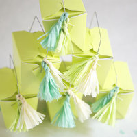 Crepe Paper Tassel DIY