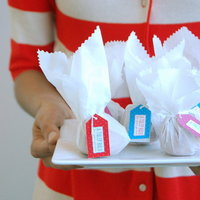 DIY: Pretty Tulip Bulb Favors