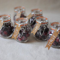DIY: Sugared Cranberry Favors