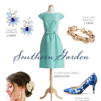 Southern Garden Bridesmaid Ensemble