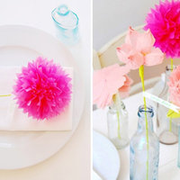 Decor We Adore: Paper Flowers!