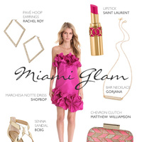 Miami Glam Bridesmaid Attire