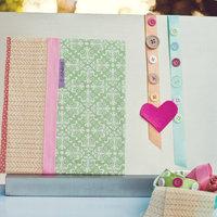 DIY: Fabric Lined Wedding Programs
