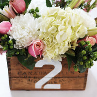 DIY: Vintage Box Centerpieces