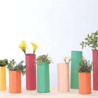 DIY: Modern Paper Vases