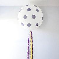 DIY: Giant Fringe Balloons