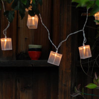 DIY: Wispy Lantern Lights