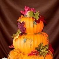 Reception, Flowers & Decor, Cakes, orange, cake