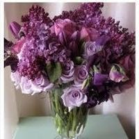 Reception, Flowers & Decor, purple, Flowers