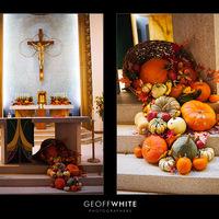 Ceremony, Flowers & Decor, orange, red, brown, gold, Ceremony Flowers, Flowers