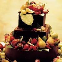 Reception, Flowers & Decor, Cakes, brown, cake