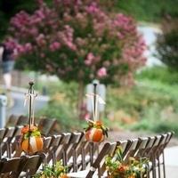 Ceremony, Flowers & Decor, orange, Ceremony Flowers, Flowers