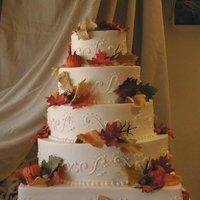 Cakes, orange, gold, cake