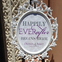 Ceremony, Flowers & Decor, white, After, Sign, Ever, Happily
