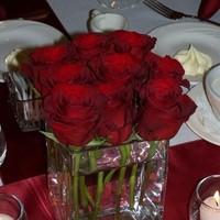 Reception, Flowers & Decor, Decor, red, Centerpieces, Flowers, Roses, Centerpiece