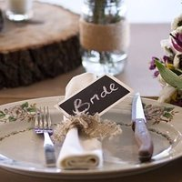 Chalkboard Place Card