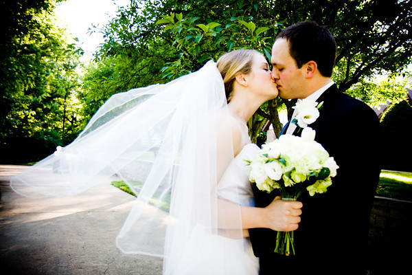 Beauty, Wedding Dresses, Veils, Fashion, white, green, black, dress, Bride, Groom, Veil, Kiss, Hair, Wind, J pollack photography