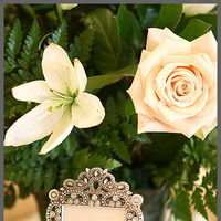 Reception, Flowers & Decor, white, black, silver, gold