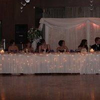 Reception, Flowers & Decor, white, purple