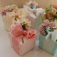 Favors & Gifts, yellow, orange, pink, purple, blue, green, gold, Favors