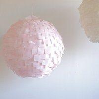 DIY: Modern Crepe Paper Lanterns