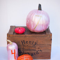 DIY: Pretty Pumpkin Table Numbers