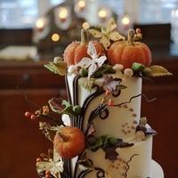 orange, cake