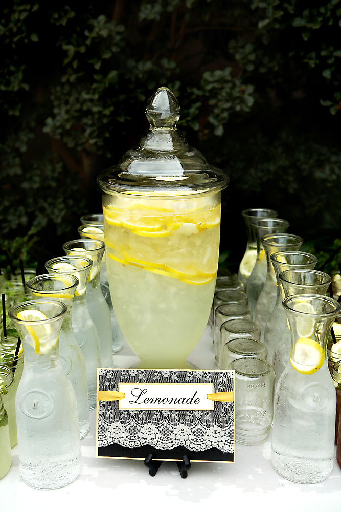 Beverage, Display, Chic, Annie m events