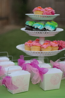 Reception, Flowers & Decor, Favors & Gifts, Cakes, pink, green, cake, Favors, Cupcakes, Wedding, My sorted affair