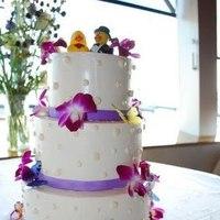 Cakes, purple, cake, Rebecca garrett cakes