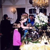 Reception, Flowers & Decor, Centerpieces, Guests, Dining, Food, Flowers, Centerpiece, Buffet, Room, Gramercy mansion