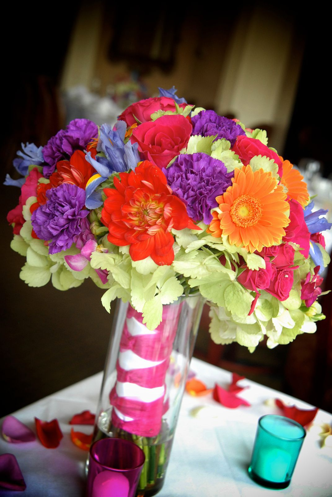 Inspiration, Flowers & Decor, white, orange, pink, red, purple, blue, green, black, silver, Flowers, Board