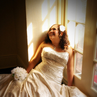 Wedding Dresses, Fashion, dress, Bride, Portrait, Window, Laughing, Caitlins creations