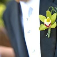 Ceremony, Inspiration, Reception, Flowers & Decor, green, black, Ceremony Flowers, Boutonnieres, Groomsmen, Flowers, Flower, Orchid, Groom, Guys, Board, Boutonniere, Design, Florist, A greater plan weddings events consulting