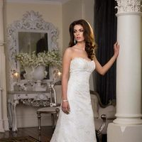 Wedding Dresses, Fashion, white, dress, Elegant, Strapless, Strapless Wedding Dresses