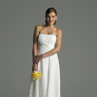 Flowers & Decor, Wedding Dresses, Fashion, white, yellow, dress, Flowers, Flower Wedding Dresses
