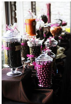 Reception, Flowers & Decor, Favors & Gifts, purple, brown, Favors