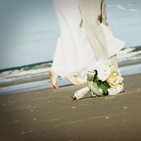 Flowers & Decor, Beach, Flowers, Beach Wedding Flowers & Decor