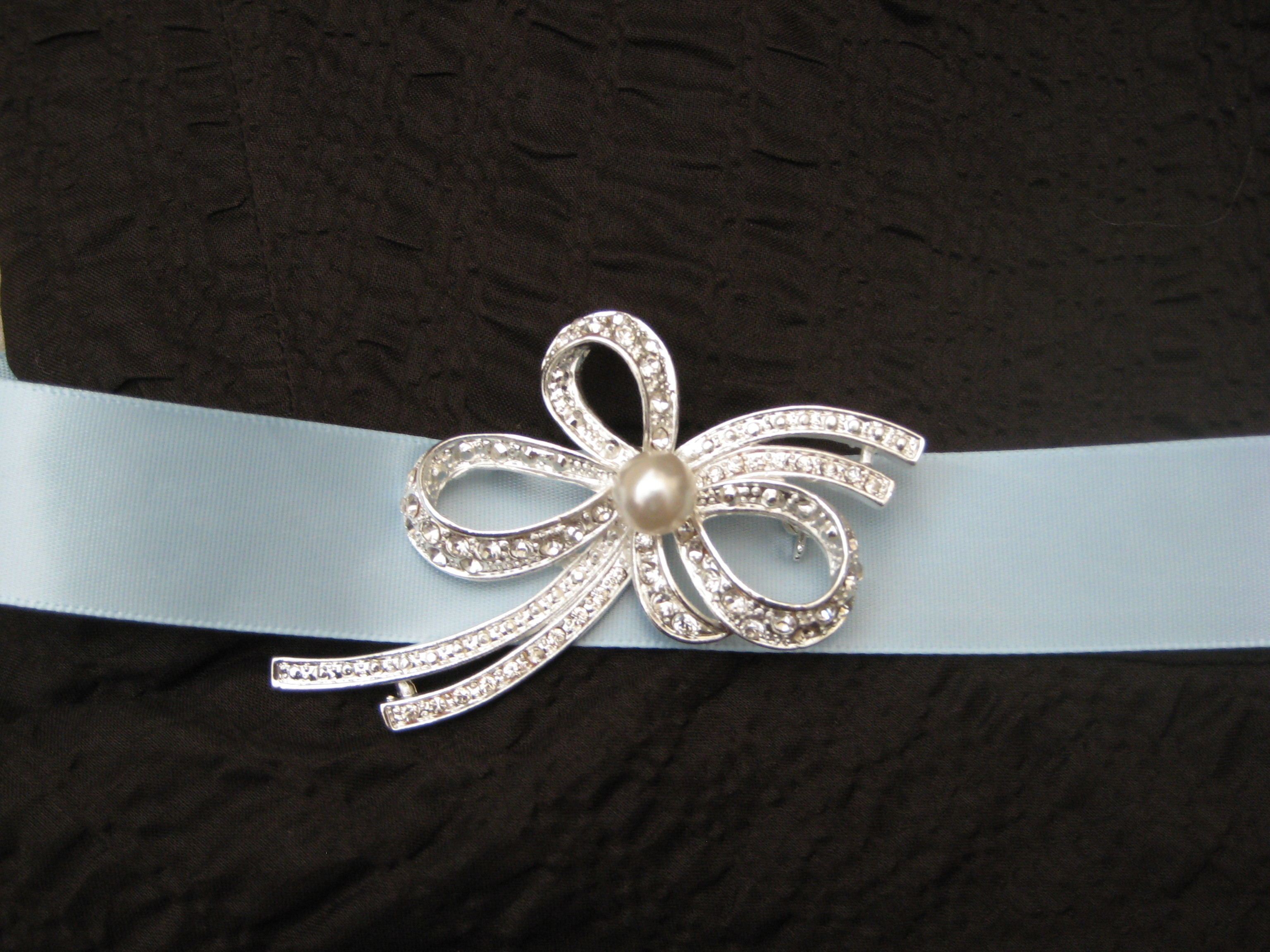 Jewelry, Bridesmaid, Bow, Pin