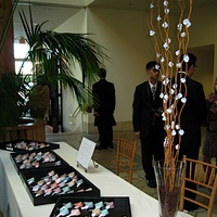 Reception, Flowers & Decor, Stationery, Escort Cards, Asian, Cherry blossom, Fortune cookie, Seating cards, Fortune cookies