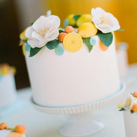 Mellow Yellow Mini Cake