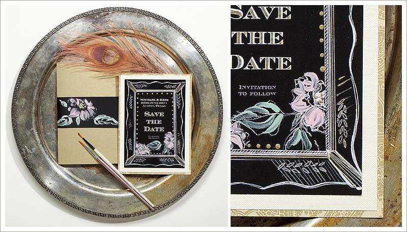 Old Hollywood Save-the-Date