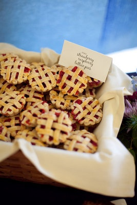 Mini Strawberry Raspberry Pies