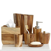Natural Bathroom Accents