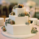 1375277802 small thumb octagonal wedding cake with sugared fruit 300x409