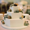 1375277806 thumb photo preview octagonal wedding cake with sugared fruit 300x409
