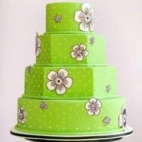 Octagon Wedding Cakea