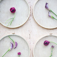 DIY: Floral Wall Installation