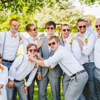 Fashion, Real Weddings, Wedding Style, orange, Men's Formal Wear, Modern Real Weddings, Rustic Real Weddings, Southern Real Weddings, Modern Weddings, Rustic Weddings, Virginia weddings, Southern weddings, preppy weddings, preppy real weddings, virginia real weddings, bowties